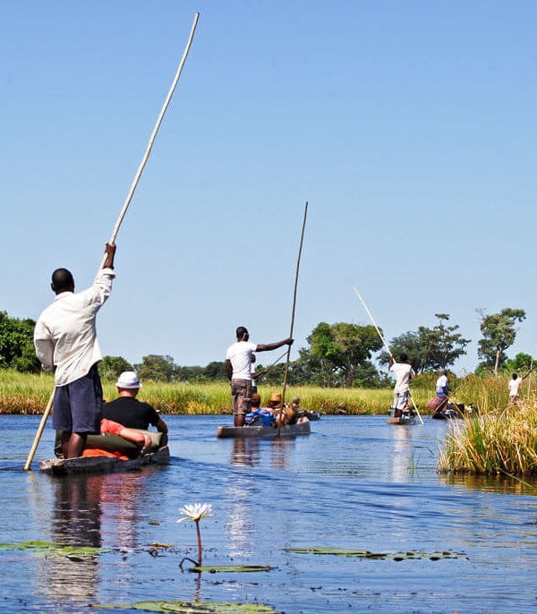 canoe-botswana