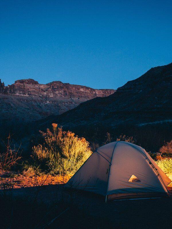 voyager et faire du camping