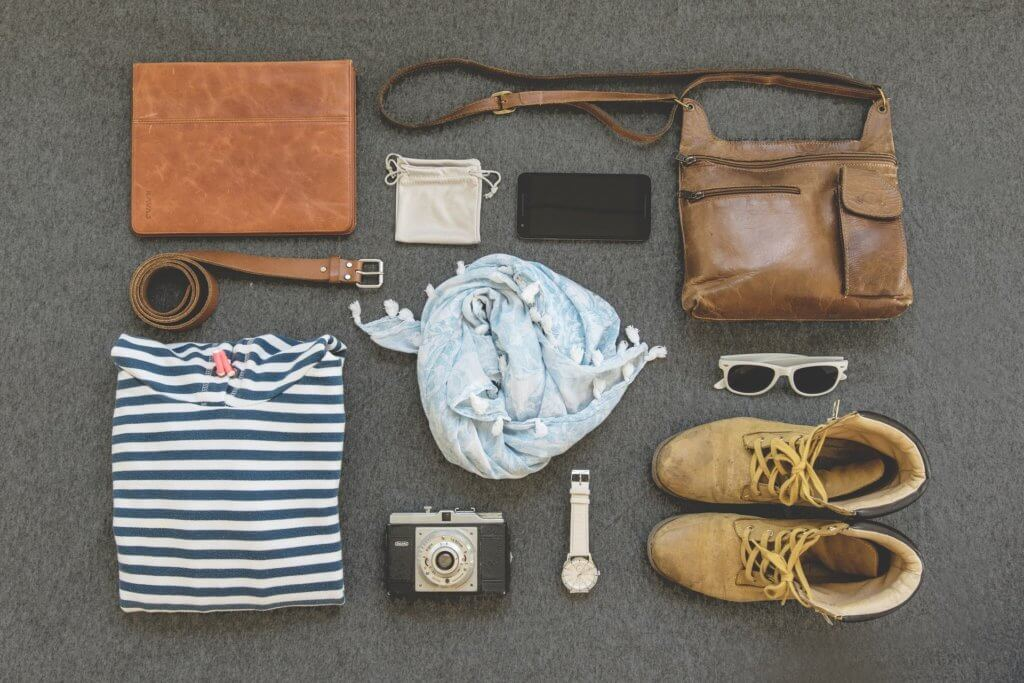 preparer son sac pour voyager