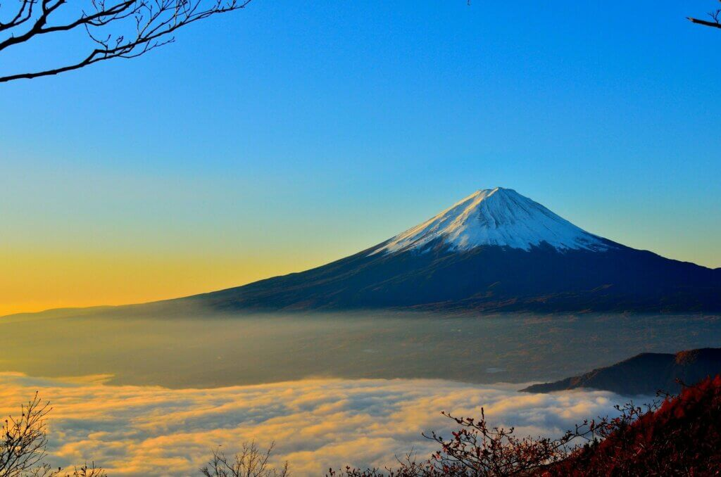 mont fuiji japon